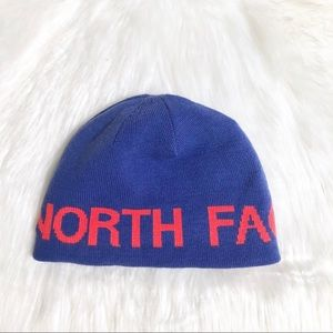 The North Face Reversible Spell Out Beanie
